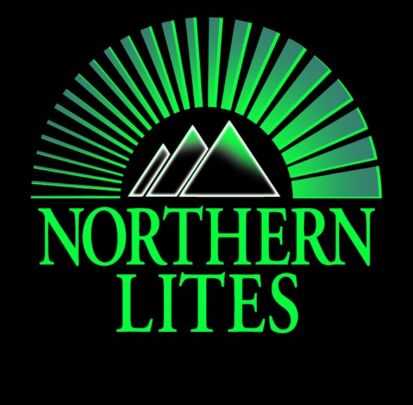 Northern Lites Logo White on Black
