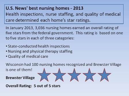 US News Best Nursing Homes 2013
