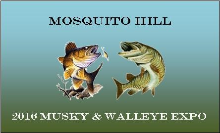 Musky and Walleye Expo Logo