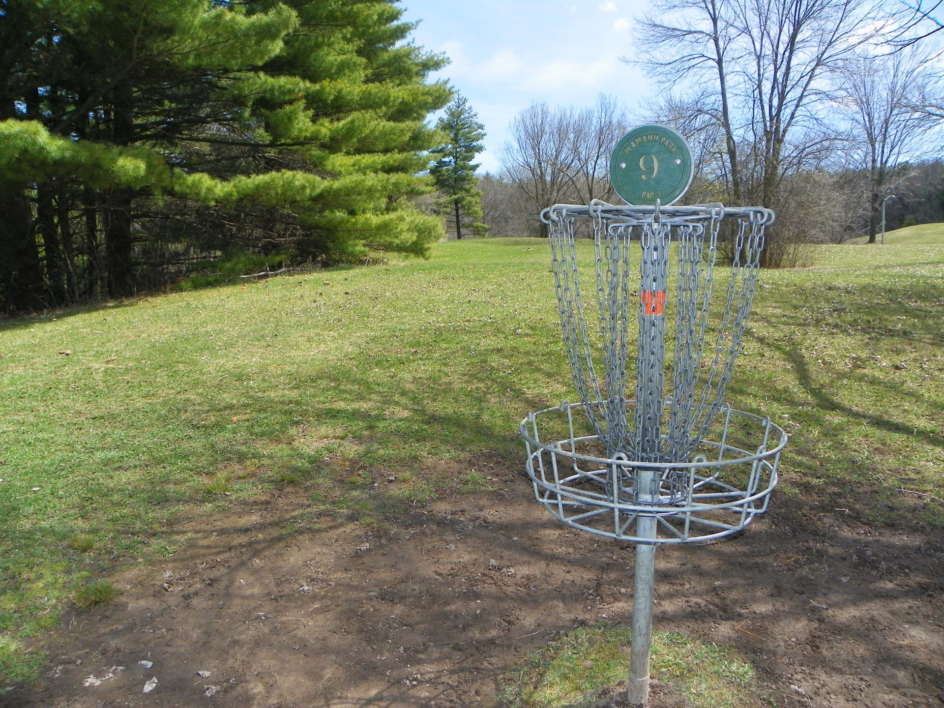 Disc Golf Hole 9